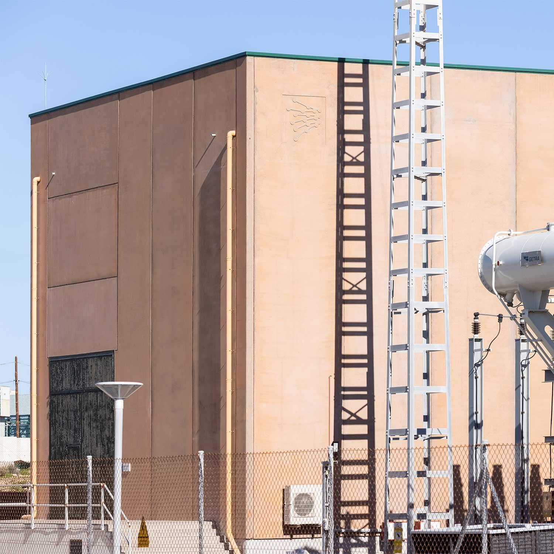 Subestación Eléctrica Granadilla - Hormigones TAUCE