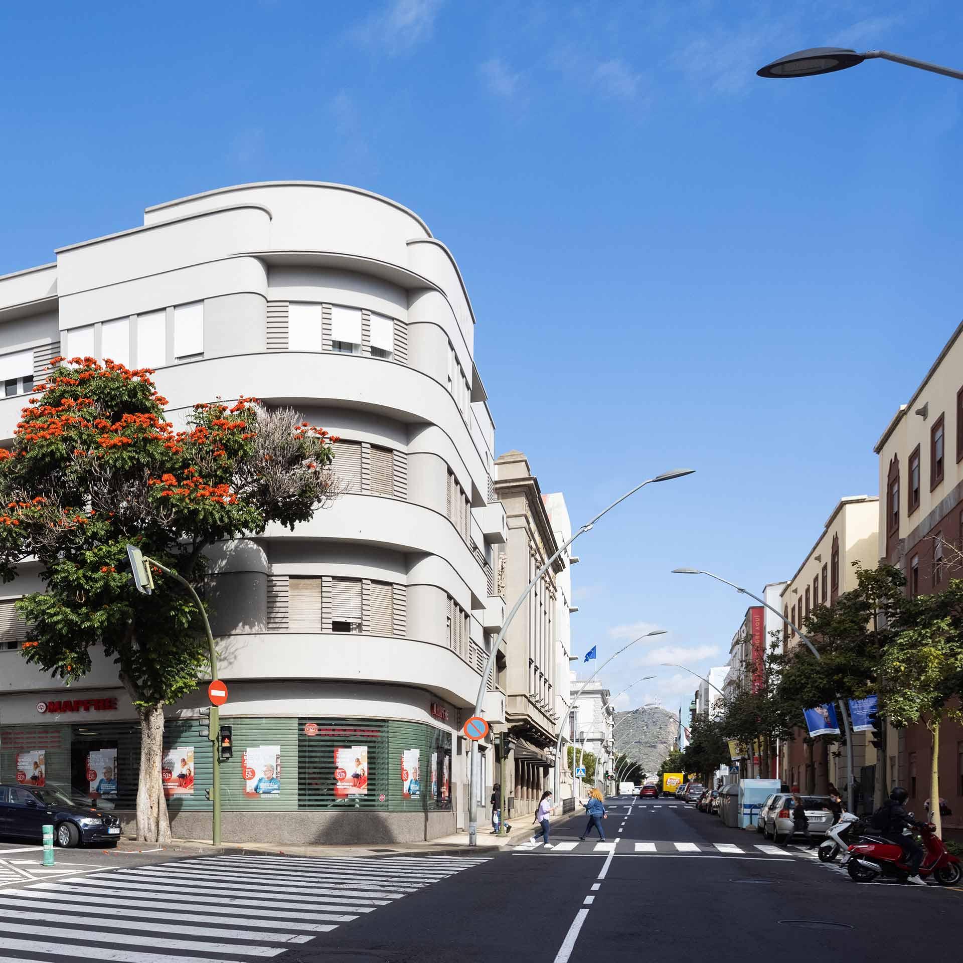 Edificio Orche Hormigones TAUCE