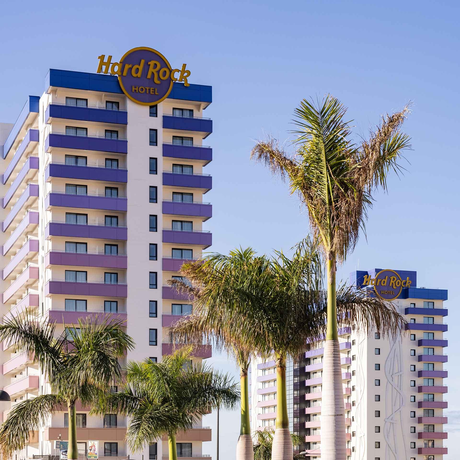 Reforma Hotel Hard Rock - Hormigones TAUCE