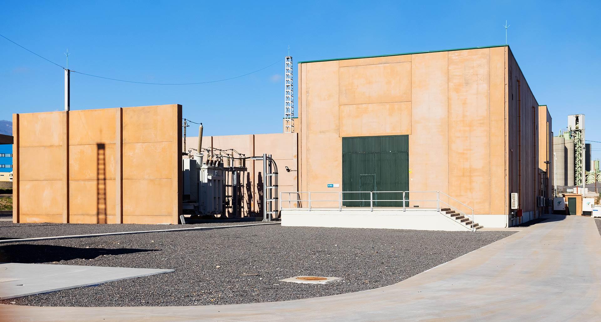 Subestación Eléctrica de Granadilla - Hormigones TAUCE