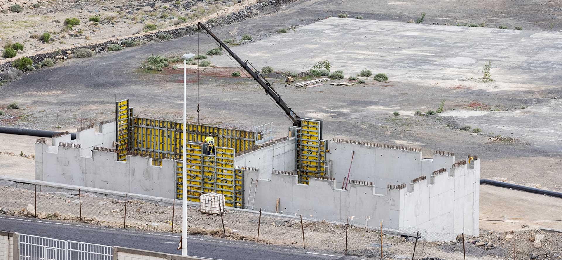 Urbanización Puerto Industrial de Granadilla - Hormigones TAUCE